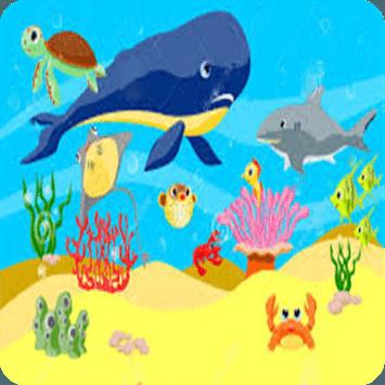 Animals in the Ocean - Nursery APK screenshot 1
