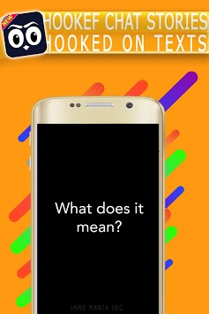 HOOKEF - Chat Stories Hooked on texts APK screenshot 1