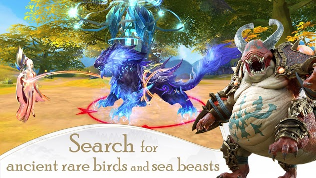 Ancient Legend:Mountains And Seas APK screenshot 1