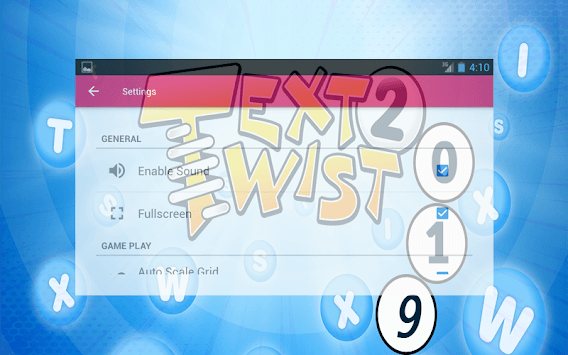 Text Twister 2019 APK screenshot 1