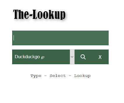 The Lookup APK screenshot 1