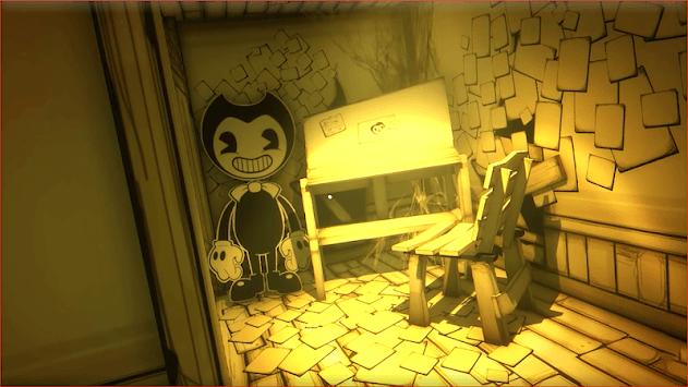 bendy and adventure ink machine APK screenshot 1