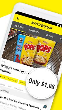 Krazy Coupon Lady: Store Deals & Coupon Finder APK screenshot 1