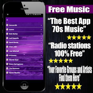 70s Music Free APK screenshot 1