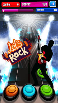 Guitar Touch Mania APK screenshot 1