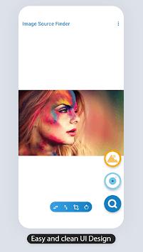 Image Source Finder: Google Reverse image search APK screenshot 1