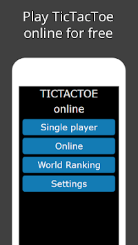 TicTacToe Online Multiplayer Game APK screenshot 1