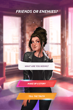 Love & Diaries: Ash - Romance Novel APK screenshot 1