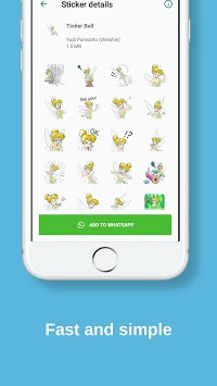 Cute Stickers: WAStickerApp APK screenshot 1
