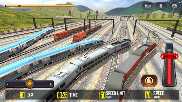 Train Race 3D APK screenshot 1