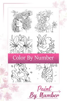 Paint by number - Coloring Book APK screenshot 1