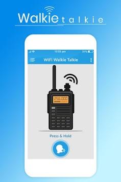 WiFi Walkie Talkie - Two Way Walkie Talkie APK screenshot 1