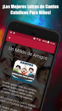 Cantos Catolicos Para Niños:Alabanzas de Niños APK screenshot 1