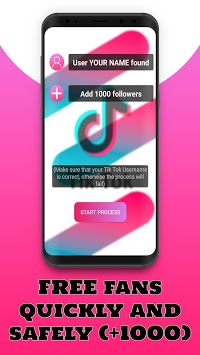 FollowTok 💖 Free Fans and Followers for Tik Tok APK screenshot 1