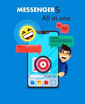 All messenger apps - in one app APK screenshot 1