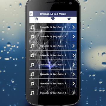 Sad & Dramatic Music APK screenshot 1