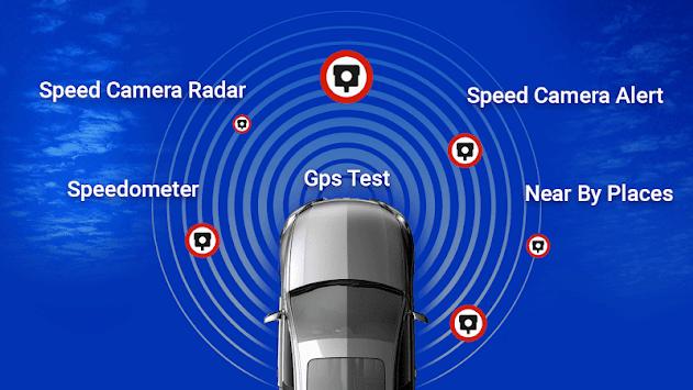 Speed Camera Detector - Police Radar Alerts App APK screenshot 1
