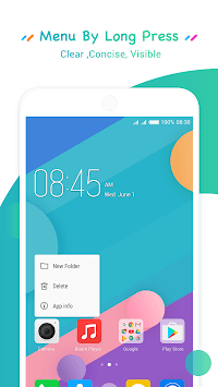 HiOS Launcher - 2018Wallpaper, Theme, Cool,Smart APK screenshot 1