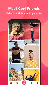 Visha - create awesome videos- short videos social APK screenshot 1