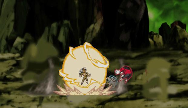 Tourney of Warriors Ultra Anime Fantastic APK screenshot 1