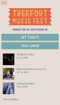 Treefort Music Fest APK screenshot 1