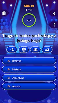 Milionerzy 2019 - kwiz polska wersja Free APK screenshot 1