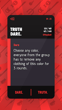 Truth Or Dare: Dirty APK screenshot 1