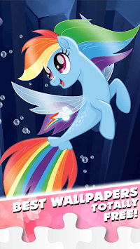 Little Pony Puzzle for kids APK screenshot 1