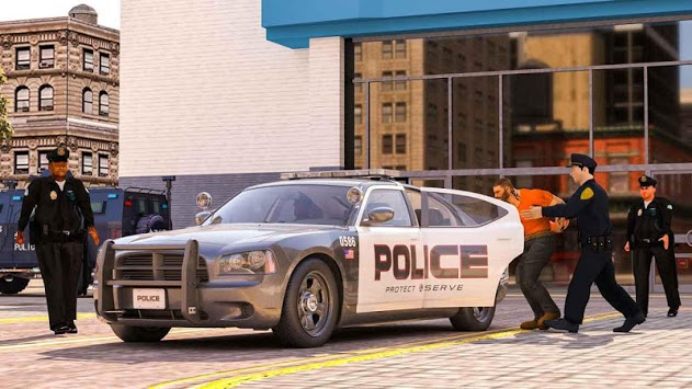 virtual police officer simulator: cops and robbers APK screenshot 1
