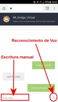 Mi Amiga Virtual en Español APK screenshot 1