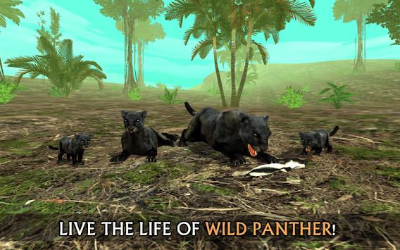 Wild Panther Sim 3D APK screenshot 1