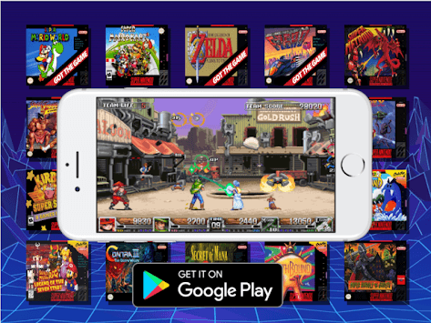 SNES Super Emulator APK screenshot 1