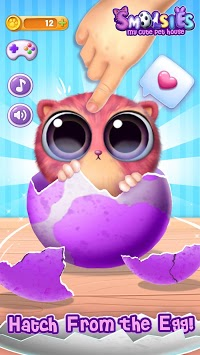 Smolsies - My Cute Pet House APK screenshot 1