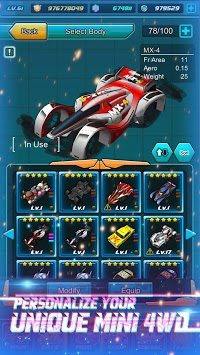 Mini Legend - Mini 4WD Simulation Racing Game! APK screenshot 1