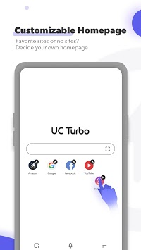 UC Browser Turbo - Fast Download, Private, No Ads APK screenshot 1