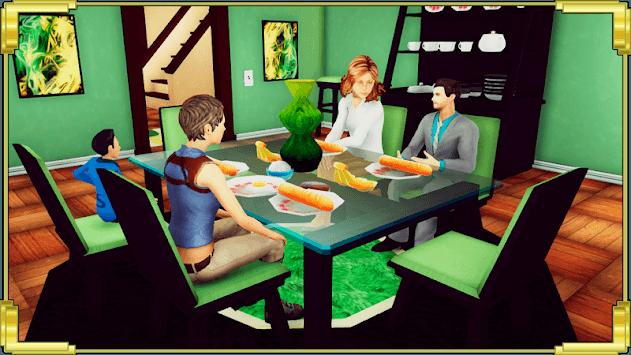Family Dad Life: Dad Mom Simulator Games 2019 APK screenshot 1