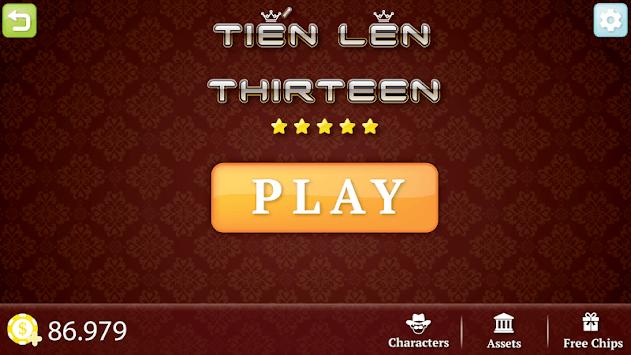Tien Len - Thirteen APK screenshot 1