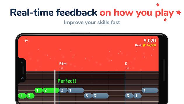 MelodiQ: Guitar Tabs & Lessons APK screenshot 1