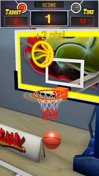 Basketball 3D APK screenshot 1