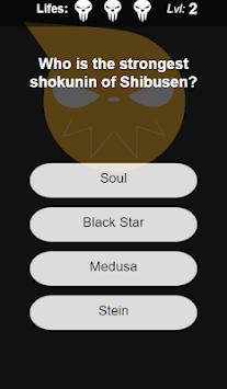 Soul Eater Quiz APK screenshot 1