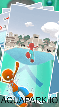 Waterpark Slide.io - Aqua APK screenshot 1