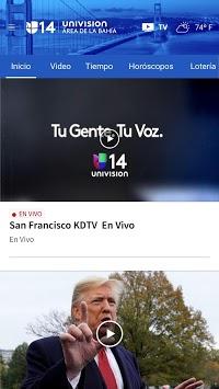 Univision Área de la Bahía APK screenshot 1