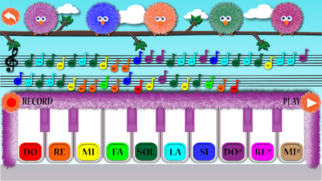 Piano-Fluffy Piano APK screenshot 1
