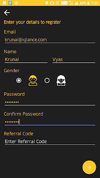 Urge User APK screenshot 1