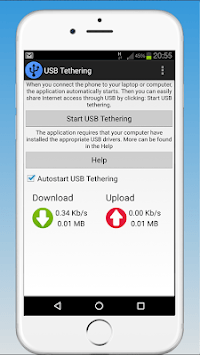 USB Tethering Share APK screenshot 1