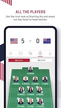 U.S. Soccer APK screenshot 1