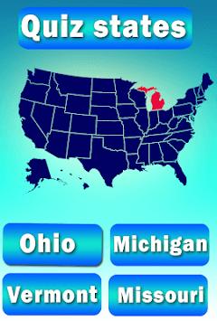 Usa States Quiz APK screenshot 1