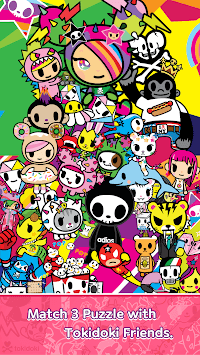 tokidoki frenzies : Match 3 Puzzle APK screenshot 1