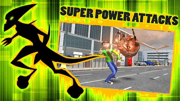 Earth Protector Alien Ultimate Hero APK screenshot 1