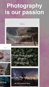 ViewBug - Photography APK screenshot 1